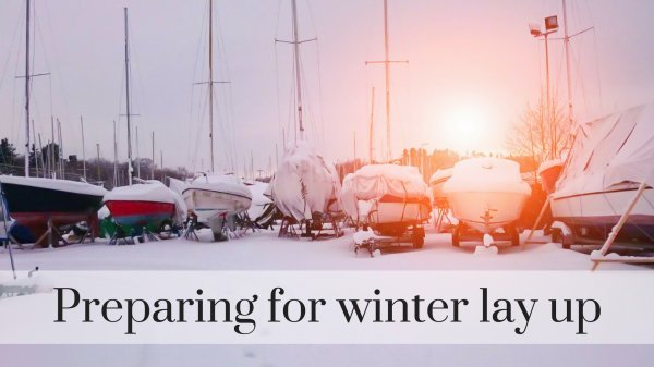 Winter lay up boats insurance tips